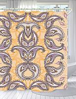cheap -Pretty Iris Digital Printing Shower Curtain Shower Curtains Hooks Modern Polyester New Design