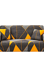 cheap -Sofa Cover The Geomet Print Dustproof Stretch Slipcovers Stretch Super Soft Fabric Couch Cover Fit for 1 to  4 Cushion Couch and L Shape Sofa (You will Get 1 Throw Pillow Case as free Gift)