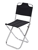 cheap -KORAMAN Camping Chair Fishing Chairs Portable Foldable Lightweight Anti-tear Aluminum Alloy Waterproof Fabric Oxford for 1 person Fishing Beach Camping Traveling Spring Summer Black Green