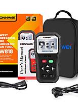 cheap -konnwei kw818 car fault diagnosis instrument scanner elm327 ms509 u581 vs600450