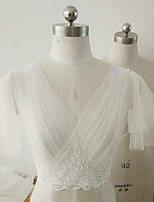 cheap -Sleeveless Elegant / Bridal Polyester Party / Party / Evening Women's Wrap With Solid