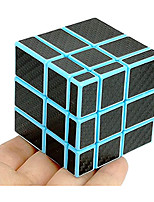 cheap -Fangge Mirror Blue with Black Carbon Fiber Stickers 3x3 Magic Cube Mirror Blocks Blue Speed Cube