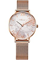 cheap -Women's Quartz Watches Analog Quartz Floral Style Luxury Water Resistant / Waterproof