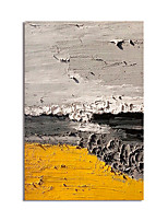 cheap -Oil Painting Hand Painted Abstract Canvas Painting Comtemporary Simple Modern Stretched Canvas Ready to Hang