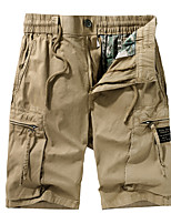 """cheap -Men's Hiking Shorts Hiking Cargo Shorts Summer Outdoor 10"""" Ripstop Quick Dry Multi Pockets Breathable Cotton Knee Length Bottoms Black Grey Khaki Army Green Work Hunting Fishing 29 30 31 32 33"""