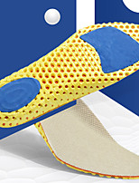 cheap -Shoe Inserts Running Insoles Women's Men's Sports Insoles Foot Supports Shock Absorption Arch Support Moisture Wicking for Fitness Gym Workout Running Fall Winter Spring Black Yellow / Breathable