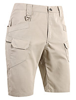 """cheap -Men's Hiking Shorts Hiking Cargo Shorts Tactical Shorts Military Summer Outdoor 12"""" Ripstop Multi Pockets Breathable Sweat wicking Cotton Knee Length Bottoms Army Green Black Grey Khaki Work Hunting"""