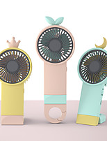 cheap -Mini Fan Portable for Fan Handheld Electric USB rechargeable fan with Light Desktop Air Cooler Outdoor Travel hand fan