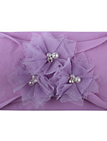 cheap -new baby hair accessories, super soft nylon mesh bead flower jewelry, cute princess hairband, factory wholesale