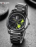 cheap -sanda men's watch fashion wheel series cool watch creative steel band quartz watch