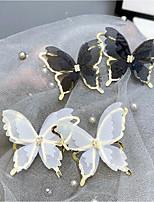 cheap -Women's Drop Earrings 3D Animal Stylish Sweet Earrings Jewelry White / Black For