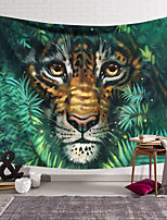 cheap -Wall Tapestry Art Decor Blanket Curtain Hanging Home Bedroom Living Room Decoration Polyester Comic Tiger