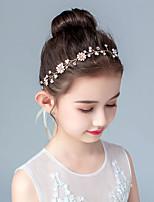 cheap -Kids / Toddler Girls' Version Of Sweet Garland Princess Headband Handmade Flower Girl Dress Accessories Girl Headband Children's Hair Accessories Girls Headwear