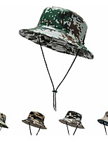 cheap -Men's Sun Hat Fishing Hat Hiking Hat Outdoor UV Sun Protection Windproof UPF50+ Quick Dry Spring Summer Hunting Ski / Snowboard Fishing Army Green Grey Khaki / Breathable