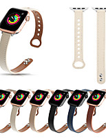 cheap -Smart Watch Band for Apple iWatch Business Band Genuine Leather Replacement  Wrist Strap for Apple Watch Series SE / 6/5/4/3/2/1