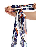 cheap -retro hairband variety printing imitation silk hairband cross-border new chain hairband