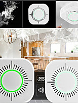 cheap -1 pcs smart home smoke detector remote control 433 mhz high sensitivity alarm sensor home automation sensors
