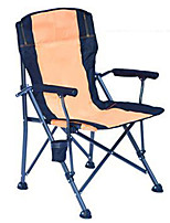 cheap -Camping Chair Portable Ultra Light (UL) Multifunctional Foldable Aluminum Alloy for 1 person Fishing Beach Camping Traveling Autumn / Fall Winter Camouflage Orange Dark Green Dark Blue / Breathable