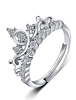 cheap -crown goddess micro inlaid little fairy diamond ring proposal ring female couple girlfriend pair ring zircon open female ring