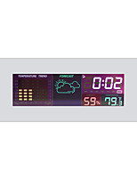 cheap -TS-S65 Portable / Multi-function Hygrometers Measuring temperature and humidity, Clock Alarm style, LCD backlight display