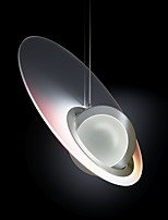 cheap -LED Pendant Light Modern Bedside Light 40 cm Single Design Glass Modern Style Stylish Minimalist Chrome LED Nordic Style 220-240V