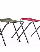 cheap -Camping Stool Multifunctional Portable Breathable Ultra Light (UL) Aluminum Alloy for 1 person Fishing Beach Camping Traveling Autumn / Fall Winter Burgundy Green