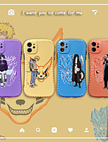 cheap -Naruto Phone Case For Apple Back Cover iPhone 12 Pro Max 11 SE 2020 X XR XS Max 8 7 Shockproof IMD Pattern Naruto Cartoon TPU