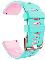 cheap -Watch Band for Fitbit Classic Buckle Silicone Wrist Strap for Fitbit Versa Fitbit Versa Lite Fitbit Versa 2