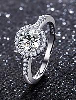 cheap -moissanite adjustable ring 50 points moissanite ring ring
