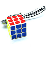 cheap -Speed Cube 1 pc Magic Cube IQ Cube 3*3*3 Fidget Desk Toy Magic Cube Puzzle Key Chain Adorable Kids' Adults' Toy Gift
