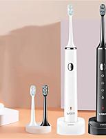 cheap -VGR Ultrasonic Electric Toothbrush Full-body Waterproof Automatic Toothbrush Toothbrush With Charging Base V-809