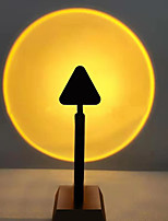 cheap -Sunset Lamp Projection 180 Degree Rotation Rainbow Projector Lamp Romantic Visual Led Projector Night Light with USB Modern Floor Stand Living Room Bedroom Decor