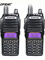 cheap -8W Portable Radio Walkie Talkie Baofeng UV-82 Dual PTT Button Vhf Uhf Dual Band Baofeng UV 82 Two Way Radio
