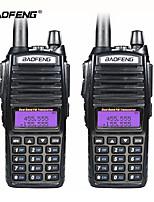 cheap -8W Portable Radio Walkie Talkie Baofeng UV-82 Dual PTT Button Vhf Uhf Dual Band Baofeng UV 82 Two Way Radio
