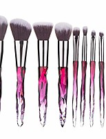 cheap -makeup brushes set professional 5/10 pieces  make up brush for women girl foundation brush powder concealers eyeshadow eyelash eyeliner highlighter cosmetic ki