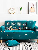 cheap -Sofa Cover Seat Printed Simple Style Sectional Stretch Slipcovers Elastic Stretch Sofa Cover For Living Room Couch Cover Armchair Cover Green Deer Animal