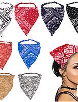 cheap -cashew headband summer beach sunscreen headband bohemian fashion cashew elastic triangle headwear