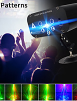 cheap -ysh laser projector light 64 patterns dj disco light music rgb stage lighting effect lamp for christmas ktv home party