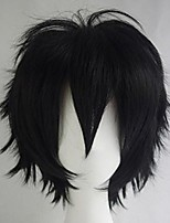 cheap -Unisex Women's Men's Short Fluffy Straight Hair Anime Cosplay Party Dress Synthetic Wig