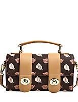 cheap -Women's Bags Top Handle Bag Date Office & Career 2021 Handbags White Coffee