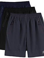 "cheap -Men's Hiking Shorts Summer Outdoor 10"" Loose Comfort Quick Dry Breathable Stretchy Shorts Black Blue Grey Fishing Running Beach XL XXL XXXL 4XL 5XL / Plus Size"