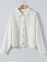 cheap -cross-border source of 2020 autumn new white denim jacket