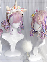 cheap -Multiple Color Sweet Lolita Lolita Wig 35 inch Cosplay Wigs Other Wig Halloween Wigs