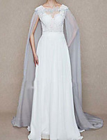 cheap -Sleeveless Elegant & Luxurious / Bridal Polyester Wedding / Party / Evening Women's Wrap With Embroidery