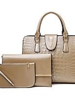 cheap -Women's Bags Bag Set Date Office & Career 2021 Wine Black Blue Khaki