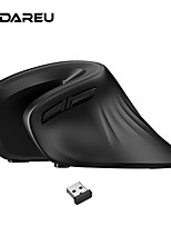 cheap -dareu ergonomic vertical wireless mouse 2.4ghz optical skin 6 buttons comfortable gaming mice with adjustable dpi for computer