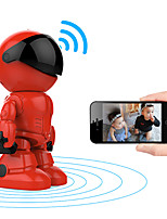 cheap -smart technology 1080p robot ip wifi camera baby monitor 2mp ir intelligent auto tracking wireless cctv home camera surveillance