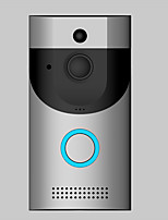 cheap -Wireless No Screen(output by APP) Hands-free 1280*720 Pixel One to Three video doorphone