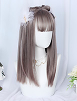 cheap -Brown and Gray Sweet Style Lolita Wig 50 inch Cosplay Wigs Lolita Wig Halloween Wigs