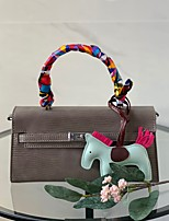 cheap -Women's Bags Top Handle Bag Date Office & Career 2021 Handbags Black Blue Red Khaki